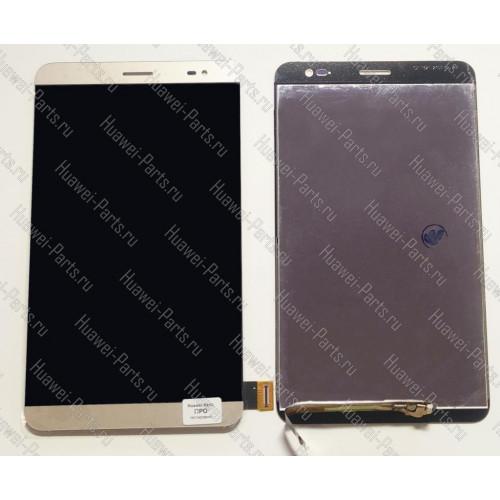 Запчасти Huawei Meizu Дисплей с тачскрином Huawei Mediapad X2 золотой