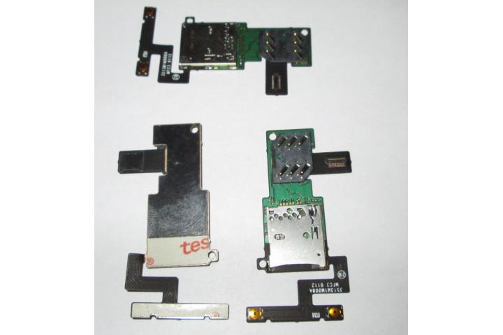 Запчасти Huawei: Шлейф симкарты карты памяти кнопки громкости Xiaomi M1 M1s
