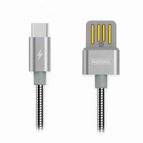Запчасти Huawei: Кабель USB/Type-C Remax RC-080a Серебро