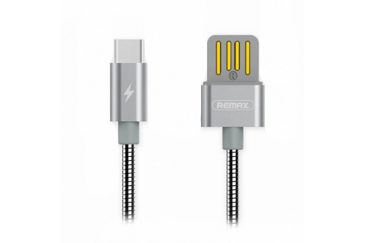 Запчасти Huawei: Кабель USB/Type-C Remax RC-080a Серебро