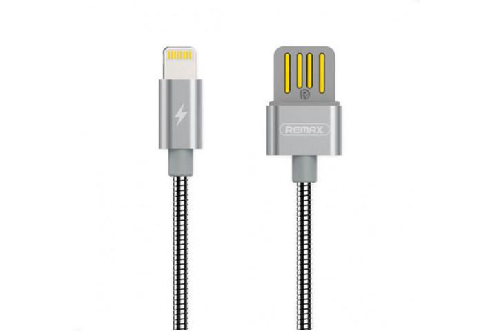 Запчасти Huawei: Lightning кабель Remax RC-080i Серебро