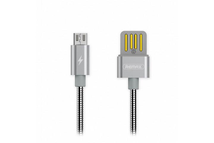 Запчасти Huawei: USB кабель Remax RC-080m Серебро